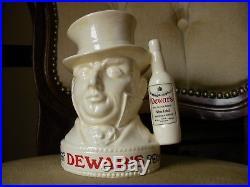 Royal Doulton Small Character Toby Jug Mr Micawber Dewars Whisky Rare MINT