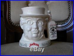 Royal Doulton Small Character Toby Jug Mr Pickwick Jim Beam Whisky Rare MINT