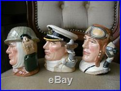 Royal Doulton Small Size Character Toby Jug The Armed Forces National Service
