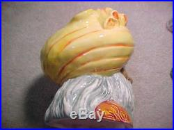 Royal Doulton Snake Charmer D6912 Large Character Toby Jug/mug Excellent