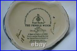 Royal Doulton Special Edition Character Jug The Pendle Witch D 6826 Signed