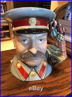 Royal Doulton Stalin Large Character Jug