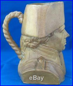 Royal Doulton Stoneware Character Jug Admiral Lord Horatio Nelson Antique