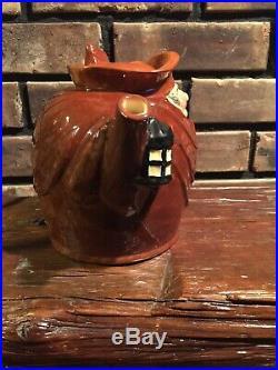 Royal Doulton Super Rare Old Charley Teapot Character Jug Mug Excellent