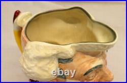 Royal Doulton THE CLOWN Large Character Toby Jug #6207 92/50 JOKER / IT