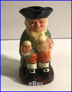 Royal Doulton TINY TOBIES COLLECTION Character Jugs / c. 1994 / Museum Quality