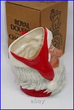 Royal Doulton Tableware Character Toby Jug Mug Santa Claus D6704 Signed withBox