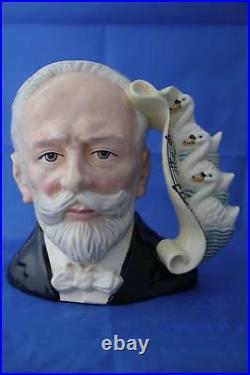 Royal Doulton Tchaikovsky Large Character Jug D7022
