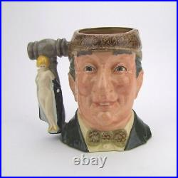 Royal Doulton The Auctioneer Large Character Jug D6838 Made in England