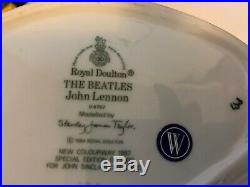 Royal Doulton The Beatles Toby Character Jugs Set of Four