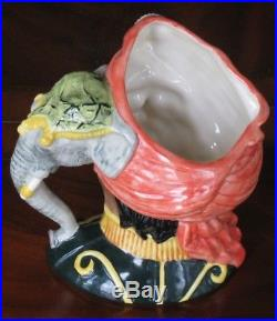 Royal Doulton The Elephant Trainer D6864 Character Mug Jug Mint Condition