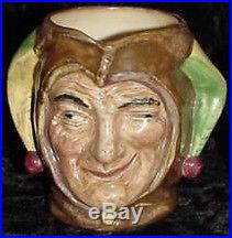 Royal Doulton The JESTER Small Character Jug