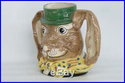 Royal Doulton The March Hare D6776 Rabbit English Character Jug 1545B