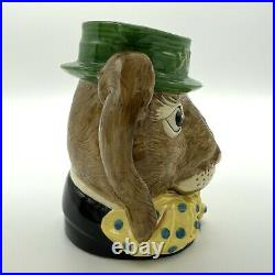 Royal Doulton The March Hare Large Character Jug D6776 1988