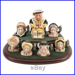 Royal Doulton The Six Wives of King Henry VIII Tiny Character Jugs