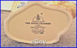 Royal Doulton The Snake Charmer Large Character Jug D6912