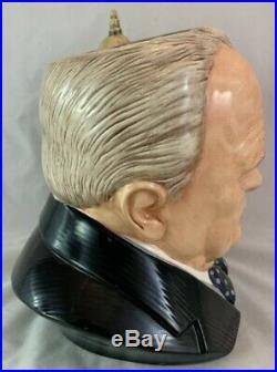 Royal Doulton Toby Character Jug D7298 Winston Churchill