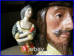 Royal Doulton Toby Character Jug King Charles I Limited Edition Loving Cup