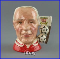 Royal Doulton Toby Character Jug Liverpool Centenary 1992 Bill Shankly D6914
