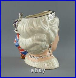 Royal Doulton Toby Character Jug Queen Elizabeth II D7256 Special Edition 2006