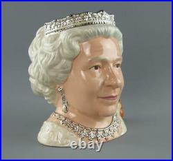 Royal Doulton Toby Character Jug Queen Elizabeth II D7256 Special Edition Boxed