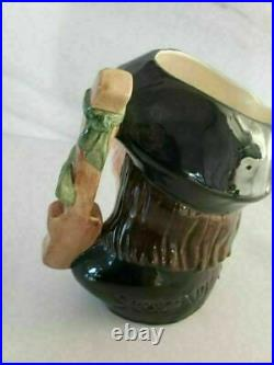 Royal Doulton Toby Character Jug Scaramouche First Version D6558 Large COPR 1961