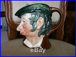 Royal Doulton Toby Character Jug Simple Simon Large Size 1950s Hard to Find MINT