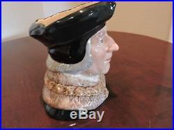 Royal Doulton Toby Character Jug Sir Thomas More D6792 Large 6 3/4