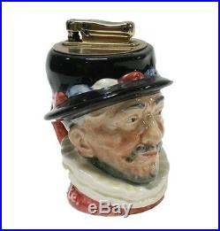 Royal Doulton Toby Character Jug Table Lighter Beefeater England 1946