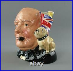 Royal Doulton Toby Character Jug Winston Churchill D6907 Special Edition 1992