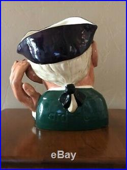 Royal Doulton Toby Character Jug ard of earing large size # D6588 dated 1963