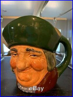 Royal Doulton Toby Character Jugs All Large Sized total of 17 in Collection