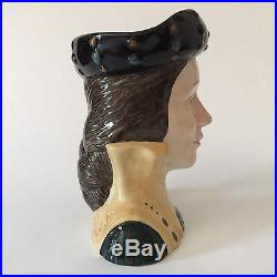 Royal Doulton Toby Jug Catherine Parr D 6664 Large Character Mug Henry VIII Wife