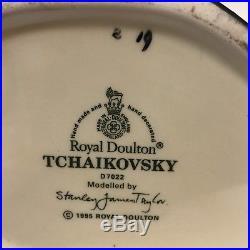 Royal Doulton Toby Jug Tchaikovsky D7022 Large Character Mug Great Composer 1995