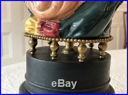 Royal Doulton Toby Sairey Gamp Character Jug Pitcher Green Lamp Antique