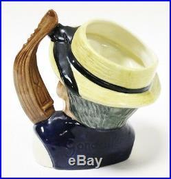 Royal Doulton Toby Small Character Jug Mug Gondolier Gondola Handle England