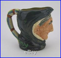 Royal Doulton Toothless Granny Large Character Jug D5521 Made in England