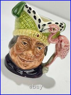 Royal Doulton Ugly Duchess Character Alice Wonderland 1964 Small Toby Jug D6603