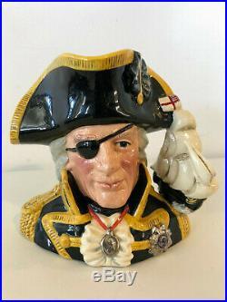 Royal Doulton Vice Admiral Lord Nelson, Character Jug, D6932, Lim Ed