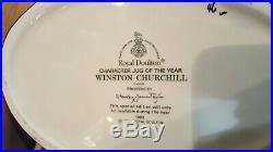Royal Doulton WINSTON CHURCHILL TOBY MUG 1992 CHARACTER JUG OF THE YEAR
