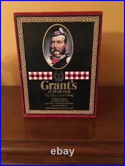 Royal Doulton William Grant Character Whiskey Jug Decanter. With Box. Mint