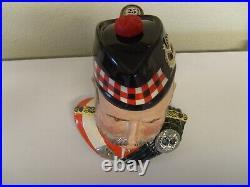 Royal Doulton William Grant liquor container character jug