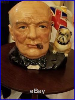 Royal Doulton Winston Churchill 1992 Character Jug Of The Year