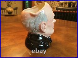 Royal Doulton Winston Churchill 6 Character Toby Jug of the Year D6907