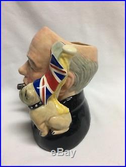 Royal Doulton Winston Churchill Character Jug of the Year 1992