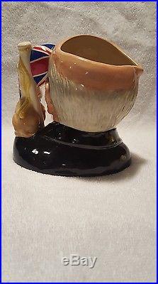 Royal Doulton Winston Churchill D6907 Toby Mug Character Jug