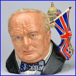 Royal Doulton Winston Churchill D7298 Character Jug Of The Year