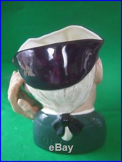 Royal Doulton'ard of earing' Large Character Jug D6588 Excellent