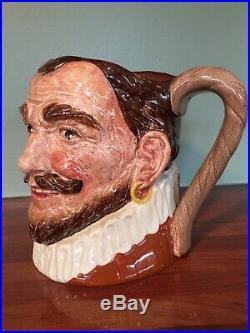Royal Doulton character jug HATLESS DRAKE RARE