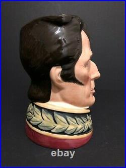 Royal Doulton'duke Of Wellington' D6848 1989 Large Toby Character Jug Rare
